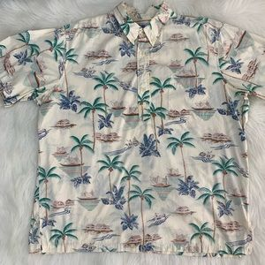 Reyn Spooner Pullover short sleeve Hawaiian shirt